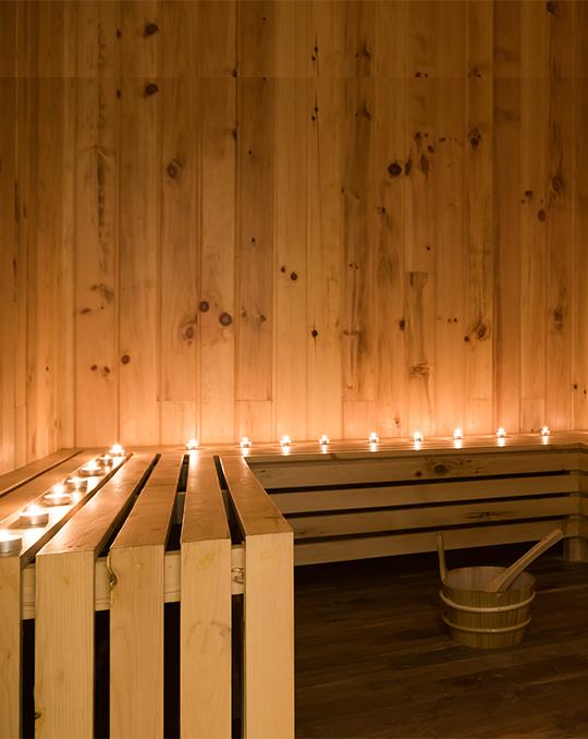 Steam and Sauna: